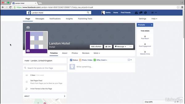 Add a logo and cover photo to a Facebook page: Facebook for Business