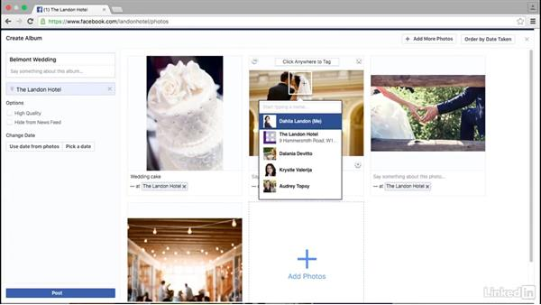 Add photos and videos to a Facebook page: Facebook for Business