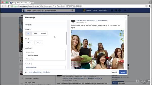 Pay to promote your Facebook page: Facebook for Business