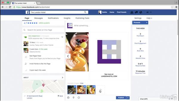 Add photos and videos to your posts: Facebook for Business