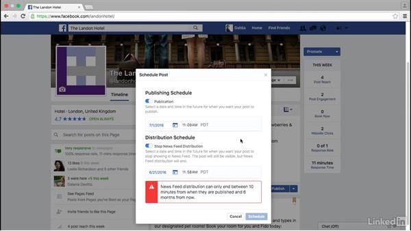 How to schedule Facebook posts: Facebook for Business