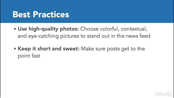 Best practices for Facebook posts: Facebook for Business