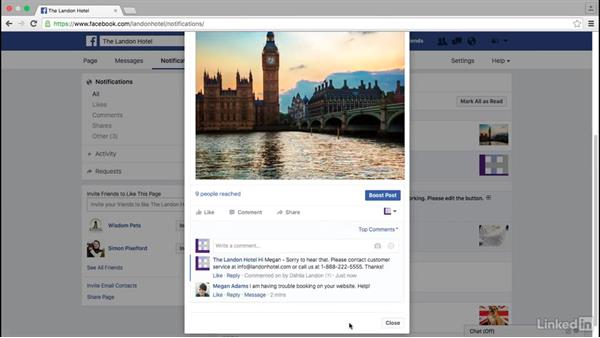 Moderate Facebook comments: Facebook for Business