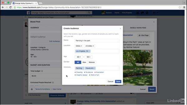 Boost a post on your Facebook page: Facebook for Business