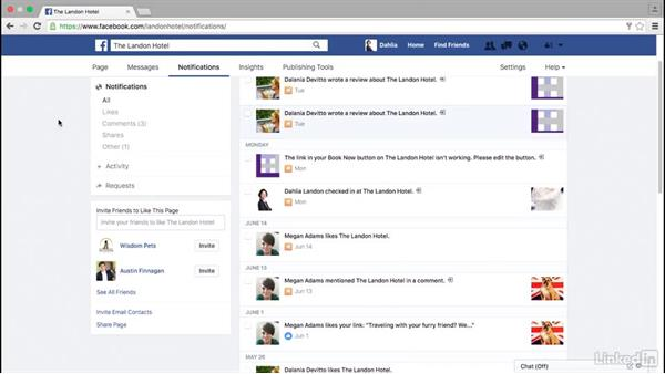 Review your Facebook notifications: Facebook for Business
