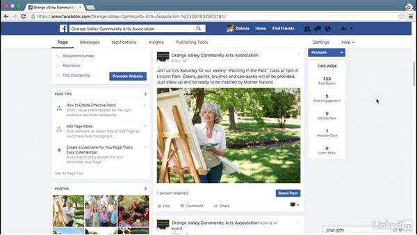 Next steps: Facebook for Business