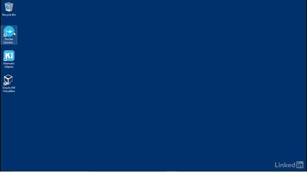 Install Docker on Windows: Docker: The Basics