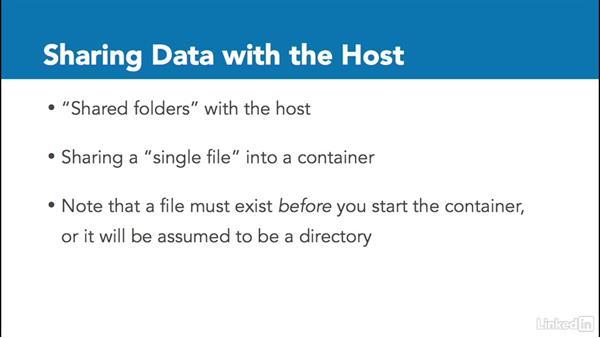 Volumes: Docker: The Basics