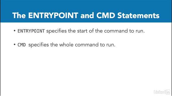 Dockerfile syntax: Docker: The Basics