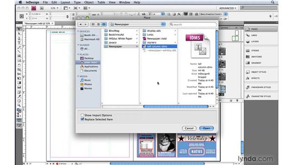 4. Previewing InDesign snippets: Bridge: 10 Things Designers Need to Know