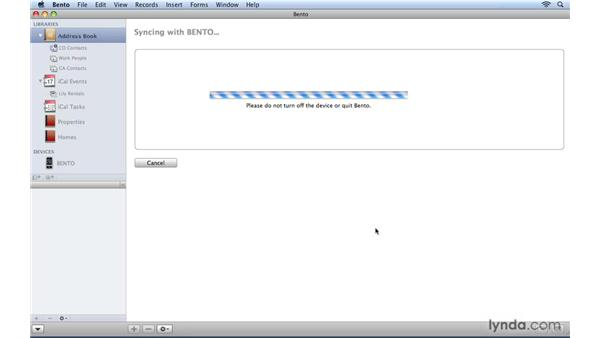Syncing the Bento App with Bento on the Mac: Bento 2 New Features