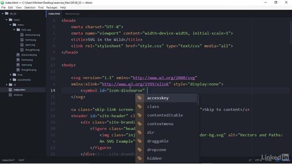 Create a manual SVG sprite