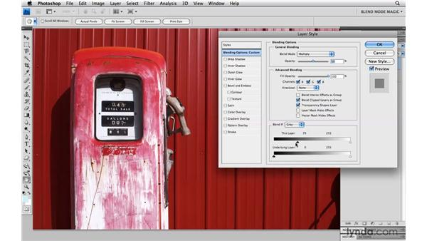 Bringing down hot highlights with Multiply: Photoshop Blend Mode Magic