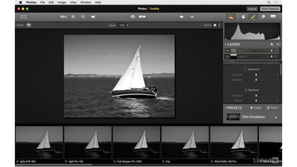 Add a gradient screen: Photos for OS X: Extensions for Local Adjustments