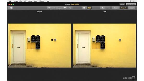 Use the retouch tools: Photos for OS X: Extensions for Local Adjustments