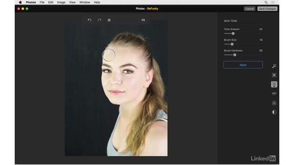 Skin tone: Photos for OS X: Extensions for Local Adjustments