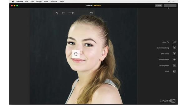 Eye brightening: Photos for OS X: Extensions for Local Adjustments
