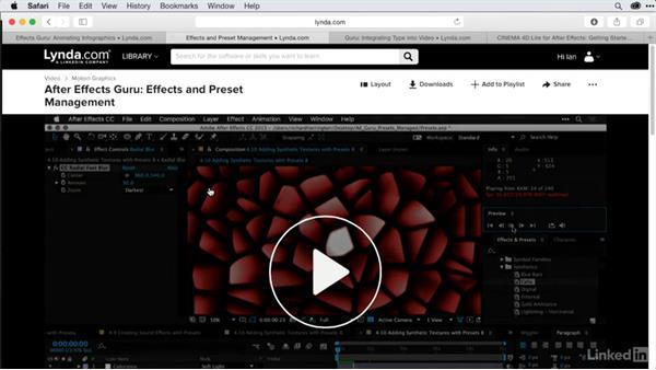 Goodbye: After Effects Guru: Using Generator Effects