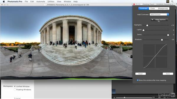 Exercise files: Creating 360-Degree Panoramas and Interactive Tours