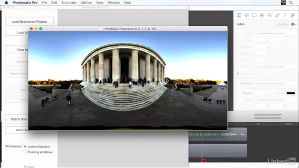 Combining bracketed panoramas in Photomatix: Creating 360-Degree Panoramas and Interactive Tours