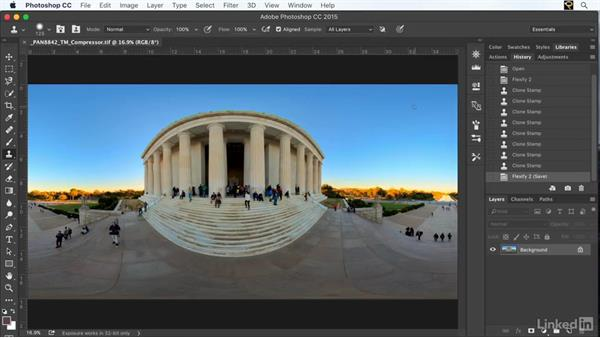 Post-processing: Creating 360-Degree Panoramas and Interactive Tours