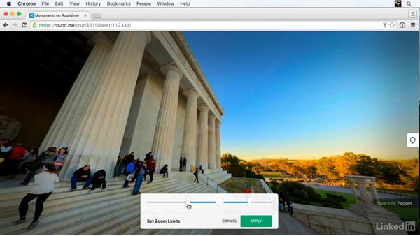 Sharing your panoramas online with Roundme