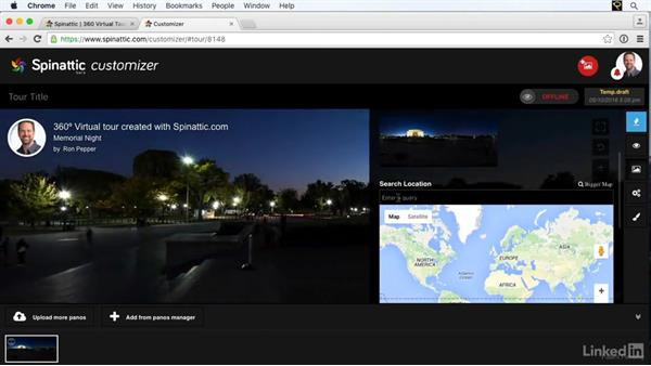 Sharing your panoramas online with Spinattic: Creating 360-Degree Panoramas and Interactive Tours