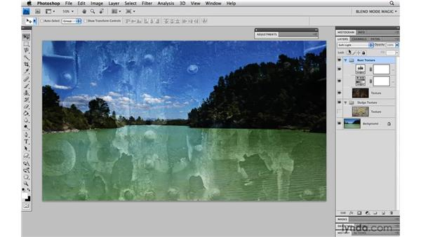 Textured patterns with Overlay: Photoshop Blend Mode Magic