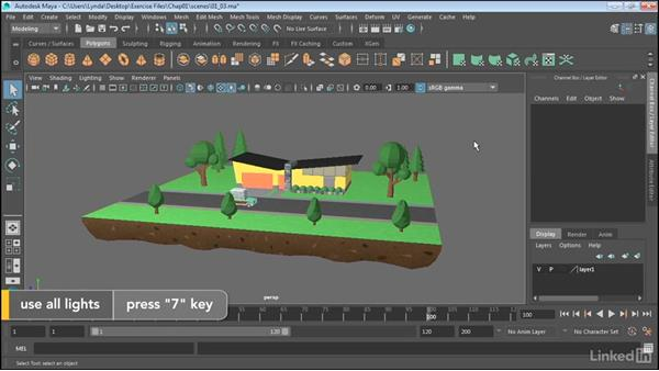 Configure viewports: Maya 2017 Essential Training