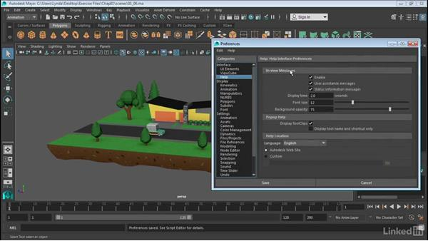 Customize the interface: Maya 2017 Essential Training