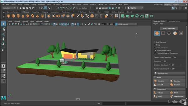 Use Maya workspaces: Maya 2017 Essential Training