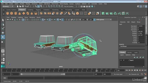 Rotate and scale: Maya 2017 Essential Training