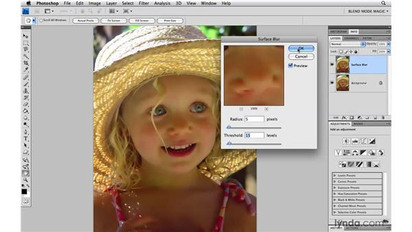 Creating a subtle glow with Soft Light: Photoshop Blend Mode Magic