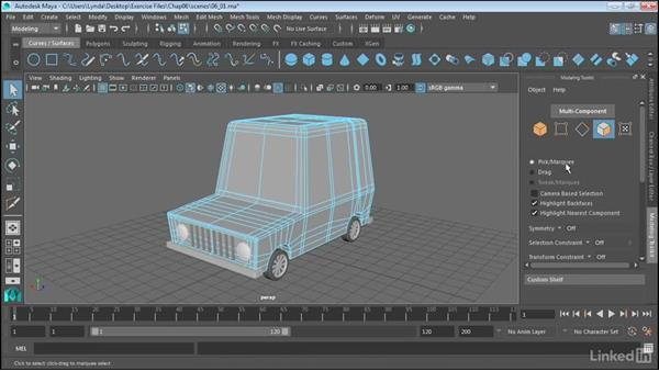 Use the Modeling Toolkit: Maya 2017 Essential Training