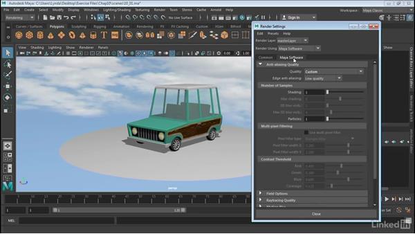 Overview of Maya renderering: Maya 2017 Essential Training