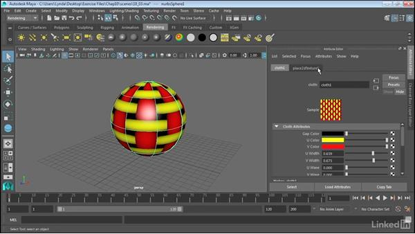 Create and apply maps: Maya 2017 Essential Training