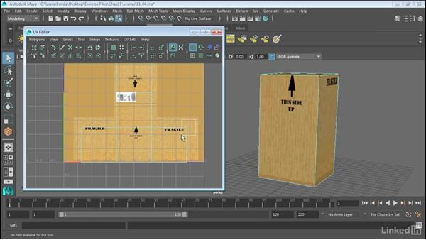 Understanding the UV Editor: Maya 2017 Essential Training