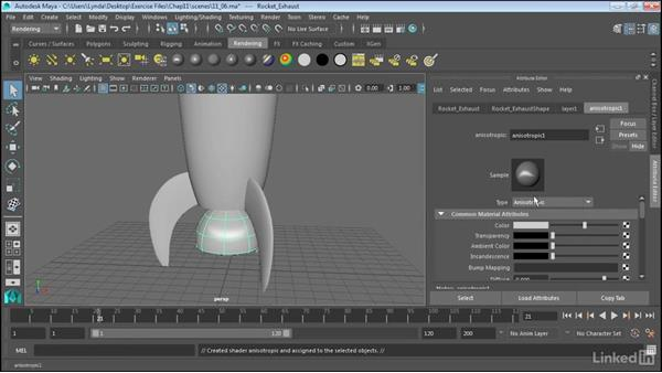 Project textures on NURBS surfaces: Maya 2017 Essential Training