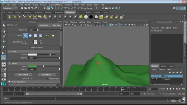 3D painting: Maya 2017 Essential Training