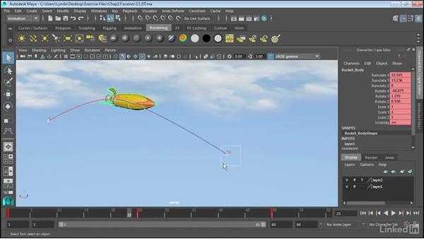 Ghosting animation: Maya 2017 Essential Training