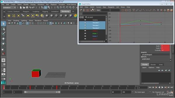 Create animation cycles: Maya 2017 Essential Training