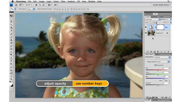 Recovering detail in blown-out highlights with Luminosity: Photoshop Blend Mode Magic