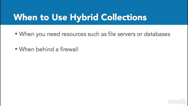 Cloud vs Hybrid collections: Windows 10: Manage Apps