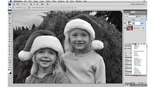 Getting better sepia tones: Photoshop Blend Mode Magic