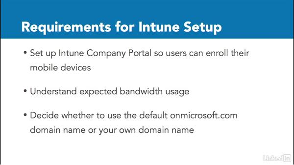 Requirements for setting up Intune: Windows 10: Manage Apps