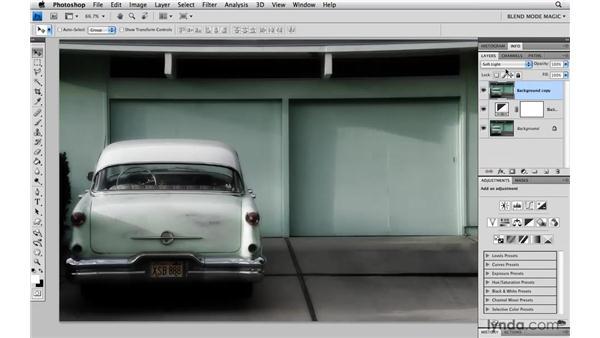 Using antique color effects: Photoshop Blend Mode Magic