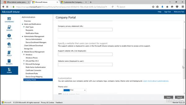 Customizing the Company Portal: Windows 10: Manage Apps