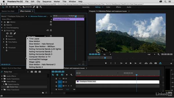 flicker free for adobe premiere pro