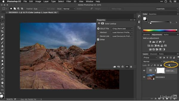 Accessing a LUT in Photoshop: Advanced Photoshop: Lookup Tables and Gradient Maps
