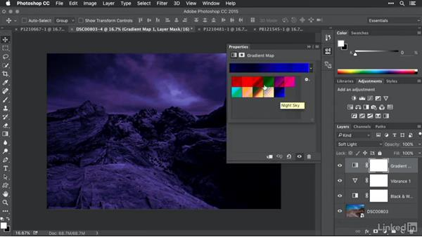 Adding custom gradient map presets: Advanced Photoshop: Lookup Tables and Gradient Maps